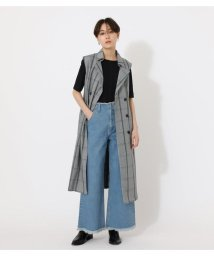 AZUL by moussy/LOOSE TRENCH VEST/503140038