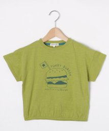 SHOO・LA・RUE(Kids) /【80-130cm】綿スラブプリントクルーネックTシャツ/503140668
