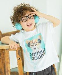 branshes/ドックプリント半袖Tシャツ/503140683