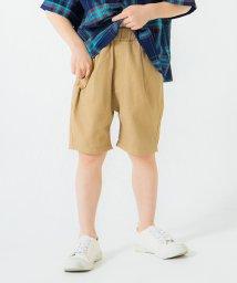 branshes/【コットンレーヨン】タックショートパンツ/503140684