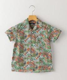 SHIPS KIDS/SHIPS KIDS:リバティ ジャングル オープンカラー シャツ(100~130cm)/503141770
