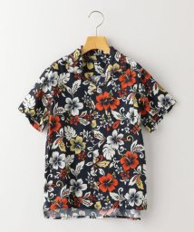 SHIPS KIDS/SHIPS KIDS:ハイビスカス オープンカラー シャツ(145~160cm)/503141836