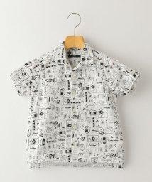 SHIPS KIDS/SHIPS KIDS:キャンプ プリント オープンカラー シャツ(100~130cm)/503143258