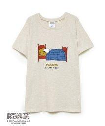 gelato pique/【PEANUTS】ワンポイントTシャツ/503144658