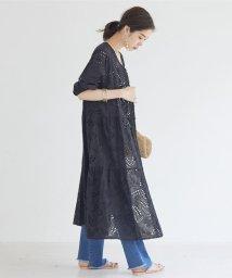 DOUX ARCHIVES /刺繍レースティアード羽織ワンピース/502970932
