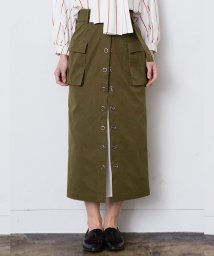 Sylph/プリーツデザインタイトスカート/503124892