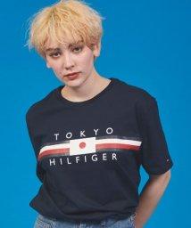 TOMMY HILFIGER/【日本限定】フラッグロゴTシャツ/503132810
