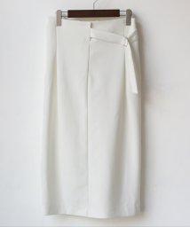 REAL CUBE/デザインベルトタイトスカート/503138113