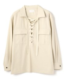 GARDEN/URU/ウル/Lace Up Shirts/レースアップシャツ/503144759