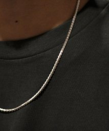 Schott/meian/メイアン/STERLING SILVER PYTHON TAIL CHAIN NECKLACE/パイソンテール チェーンネックレス MAN017T/503144761