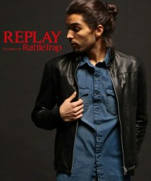 RATTLE TRAP/REPLAY×RATTLE TRAP Lamb Vegetal dyed leather/503144807