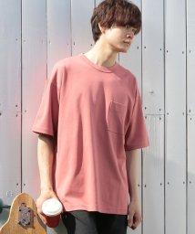 UNION STATION/コンパクトヤーンスムースクルーネックTシャツ/503144856