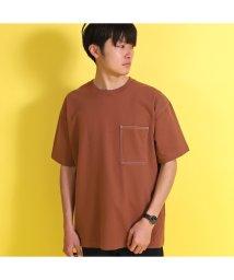 UNION STATION/【USAコットン】ドライタッチポケットTシャツ/503144858