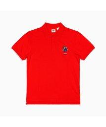 Levi's/AUTHENTIC ロゴポロシャツ MARIO POLO RED/503144879