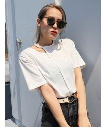 EMODA/カッティングオーバーTシャツ/503144929
