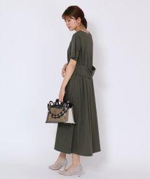 SCOTCLUB/FENNEL(フェンネル) 【手洗い可】ワイドベルトカットソーワンピース/503145667