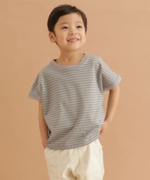 URBAN RESEARCH DOORS(Kids)/FORK&SPOON ボーダーワイドTシャツ(KIDS)/503146763