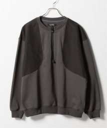JOURNAL STANDARD/【D.TT.K】HALF ZIP ELBOW PATCH SWEAT/503146871