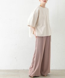 URBAN RESEARCH ROSSO/Rito WIDE PANTS W/BELT/503146927