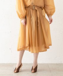 URBAN RESEARCH ROSSO/Rito SHEER GATHER SKIRT/503146930