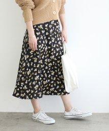 ADAM ET ROPE'/【一部店舗限定】フラワーペタルプリントスカート/503146986