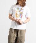 Nylaus/クルーネック サーフボード ロゴプリント 半袖 Tシャツ/503147060