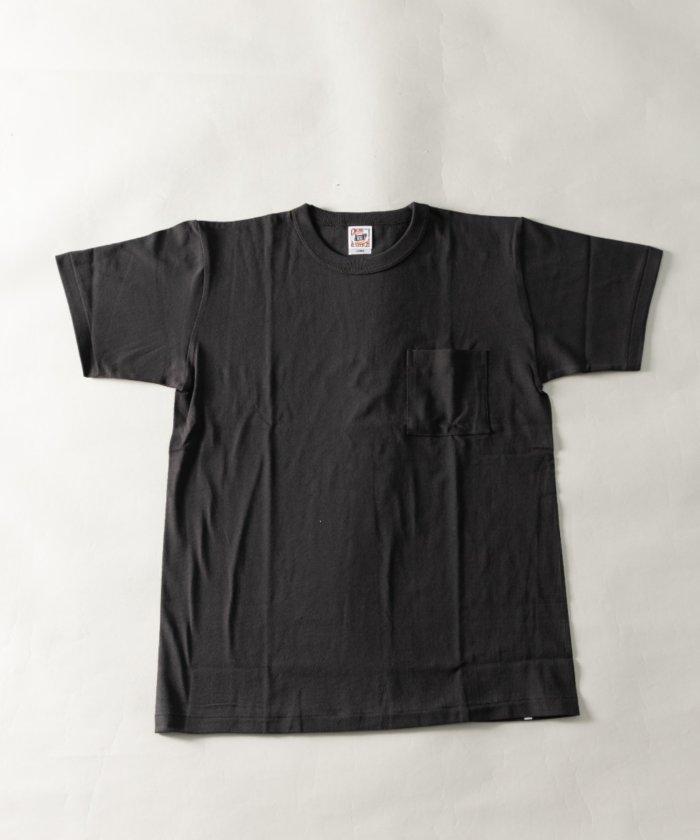 【59%OFF】 ナイラス Nylaus select バインダーネック クルーネック ポケット付き 半袖 Tシャツ メンズ ブラック系1 S 【Nylaus】 【タイムセール開催中】