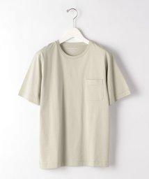 green label relaxing/CM オーガニック クリア クルーネック 半袖 カットソー/503013342