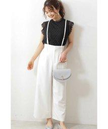 PROPORTION BODY DRESSING/◆サスペンダー付ワイドパンツ/503040461