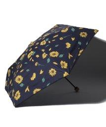 Cocoonist/ひまわり柄晴雨兼用折りたたみ傘 日傘/503083649