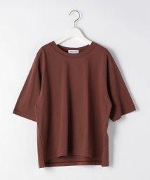 EMMEL REFINES/SMF 裾スリット クルーネック Tシャツ 2/503121745
