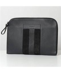 BALLY/【BALLY バリー】 BAIGH レザー クラッチバッグ ドキュメントケース 鞄 40/CHARCOAL14 メンズ/503127667