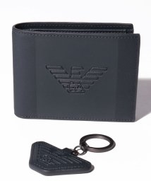 EMPORIO ARMANI/【メンズ】【EMPORIO ARMANI】Gift Box Wallet & Key Ring/503127849