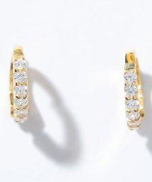 Gems by K/痛くならない魔法のイヤリング エタニティ フィットイヤリング ゴールド/503128268