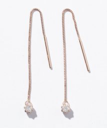Gems by K/10金PGダイヤチェーンピアス/503128281