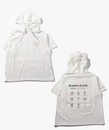 Lovetoxic/【メゾピアノジュニアコラボ】 ネコ耳つきバックプリントTシャツパーカー/503130021