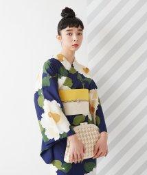 FURIFU/浴衣「椿オーバジーン」/ 夏・祭り・花火/503130536