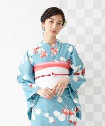 FURIFU/ 浴衣「金魚に秋海棠」/単衣・夏・花火・祭/503130539