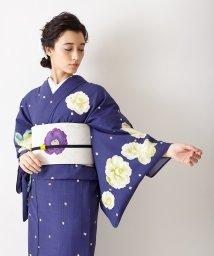 FURIFU/浴衣「飴椿」/ 単衣・夏・祭り・花火/503130542