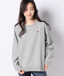 LEVI'S LADY/RELAXED CREW NEW SMOKESTACK HEATHER/503132377