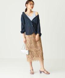 EMMEL REFINES/◆FC ケミカルレース Iラインスカート/503132393