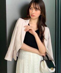 Swingle/【美人百花コラボ】袖クシュテーラードジャケット/503134692