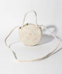 BENETTON (UNITED COLORS OF BENETTON GIRLS)/刺繍ロープサークルショルダーバッグ/503135456