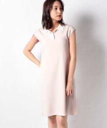 MISS J/ハノン 配色襟付きニットドレス/503137634