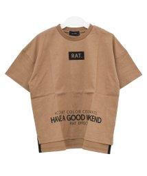 RAT EFFECT/フロントロゴプリントTシャツ/503146049