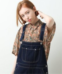 DOUBLE NAME/オリプリ花柄シャツ/503147875