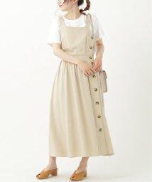 framesRayCassin/レーヨン麻サイドボタンジャンスカ/503147890