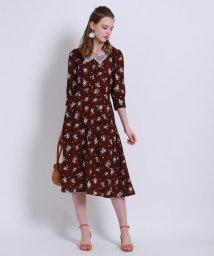 Couture Brooch/【2WAY】アンティークフラワーワンピース/503148471