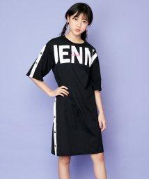 SISTER JENNI/サイドスナップBIGロゴワンピ/503148479