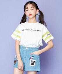 SISTER JENNI/袖ネオンメッシュカラフルロゴ半袖T/503148481